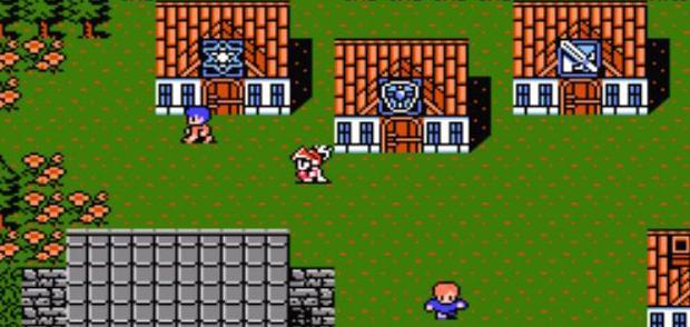 Oberwelt von Final Fantasy 1